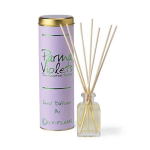 Lily Flame Parma Violet Diffuser, Pink