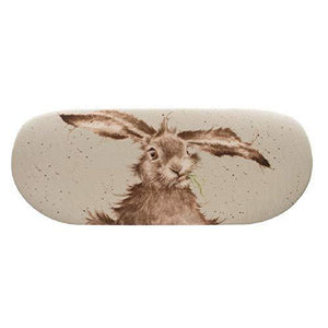 Wrendale Country Set Collection Hare Glasses Case