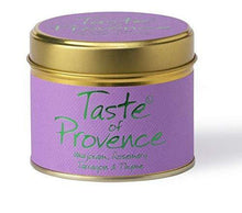 Lily Flame Taste of Provence Tin, Green, l x 7.7cm w x 6.6cm h - Cordelia's House of Treasures