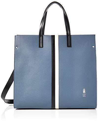 Fly London Womens Zoda687fly Top-Handle Bag Blue (Blue)