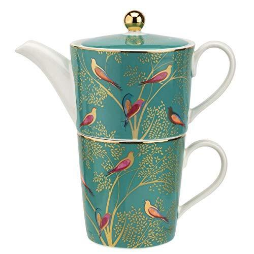 Sara Miller London Chelsea Collection Tea for One Green