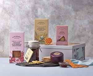 Cartwright and Butler Cheese Lover's Sharing Box | Savoury Gift Box | Thinking of You Gift | Savoury Treats | Cheese Gift |