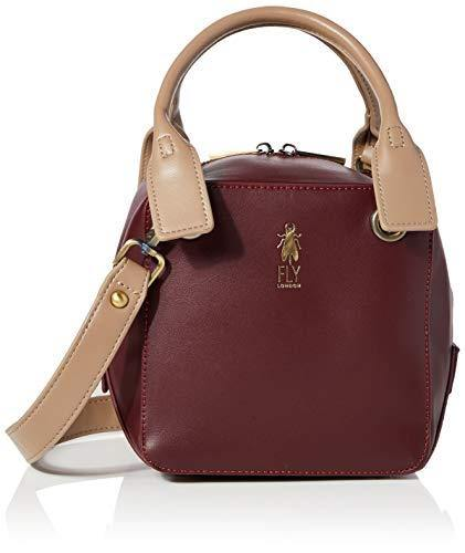Fly London Women's AVRE697FLY Handbag, Wine, One size