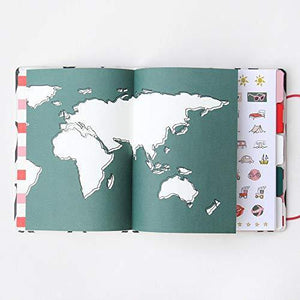 Wirobound Hardback Travel Journal - Be Bold