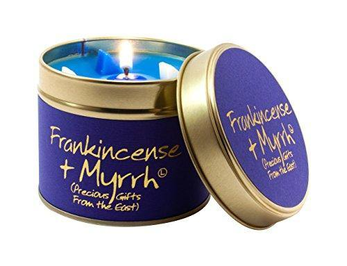 Lily Flame Frankincense and Myrrh Tin, Blue