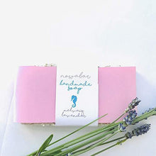 Handmade Soap Lavender Bar Oatmeal Gently Exfoliating Made in Scotland