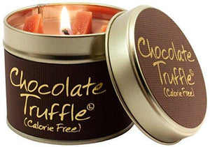 Lily Flame Chocolate Truffle Tin, Brown, l x 7.7cm w x 6.6cm h - Cordelia's House of Treasures