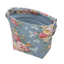 CATH KIDSTON Blue Candy Flowers Buckle Cross Body Bag