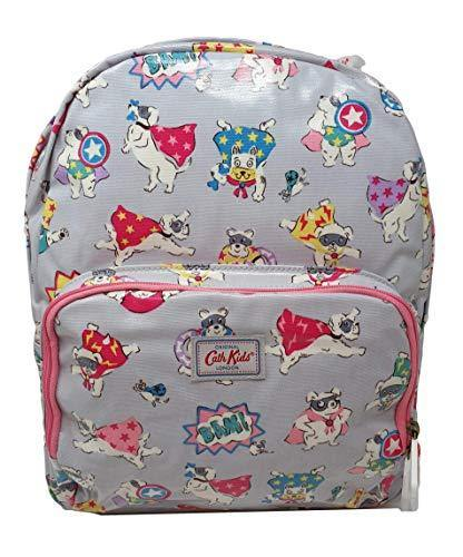 Cath Kidston 'Super Dogs' Large Rucksack/Backpack on Dove Grey Oilcloth