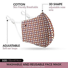 Cotton Face Mask 5 Pack | Handmade in UK Washable Reusable with Nose Wire | Filter Pocket | Adjustable Ear Loops | 3 Layers Cloth Face Masks for Women Men | Floral Patterned