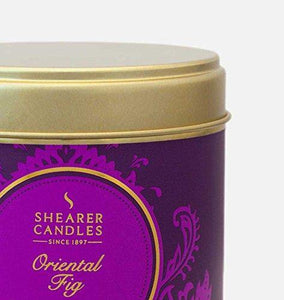 Shearer Candles Scented Candle Multipack-Amber Noir, Oriental Fig, Orange Pomander, Wax, Assorted, 24 x 13 x 12 cm