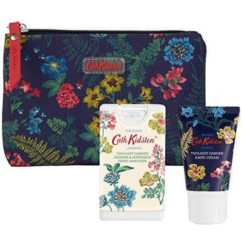 Cath Kidston Beauty Twilight Garden Cosmetic Pouch (30ml Hand Cream & 15ml Hand Sanitisers) 120 ml