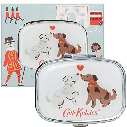 Cath Kidston Beauty London Compact Travel Mirror Lip Balm Care In Gift Box