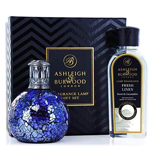 Gift Set lámparade Fragrance Small Asleigh & Burwood pfl60r All Because and Fragrance 250 ml PFL960 Fresh Linen - Cordelia's House of Treasures