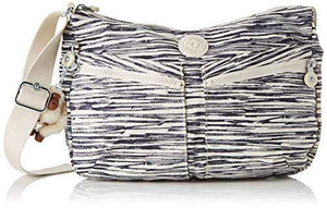 Kipling Izellah, Women's Cross-Body Bag, Multicolour (Scribble Lines)