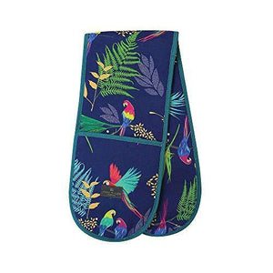 Sara Miller 295287T Double Oven Glove, Polyester, Multicoloured - Cordelia's House of Treasures