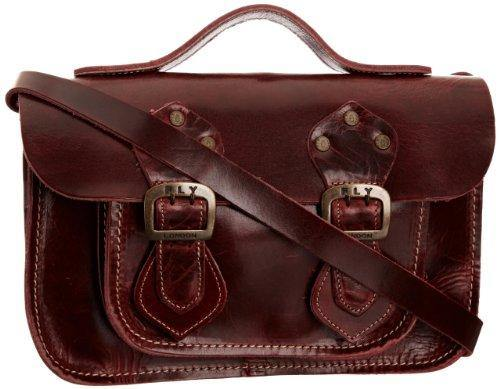 Fly London Women's Annie Satchel - Red, One Size