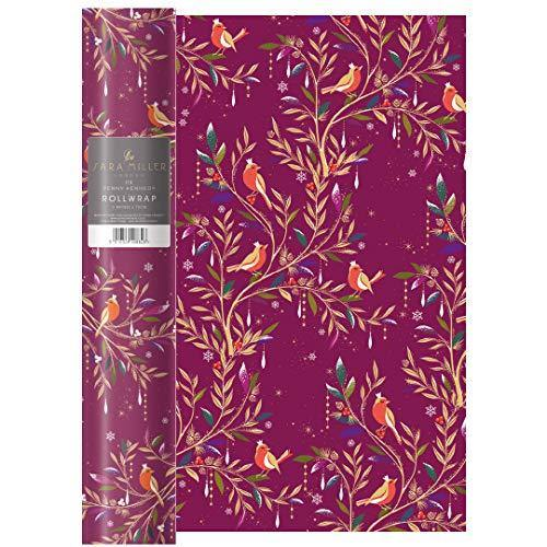 Sara Miller Robins Christmas WRAP ROLL WRAP Roll Wrap 3 m x 700 mm - Cordelia's House of Treasures