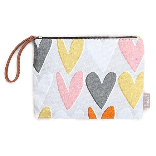 Hearts Clutch Bag