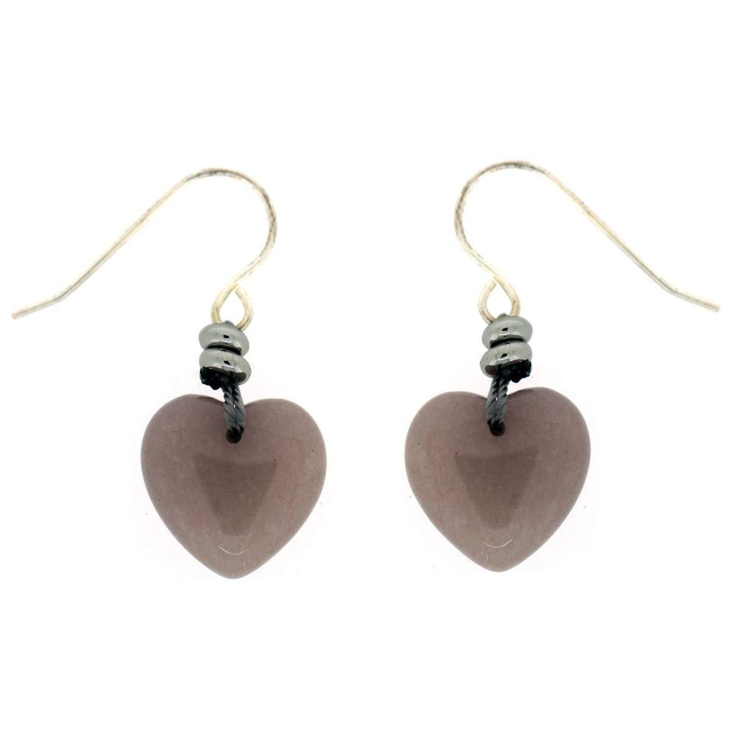Lola Rose Rodina Heart Earrings Moon Quartzite - Cordelia's House of Treasures