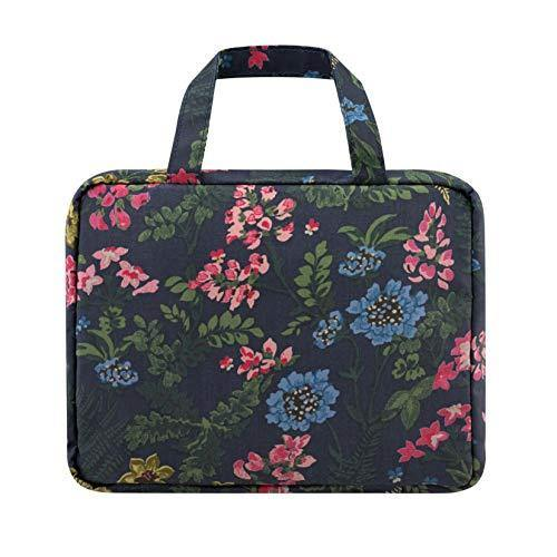 Cath Kidston Twilight Garden Two Part Wash Bag in Navy