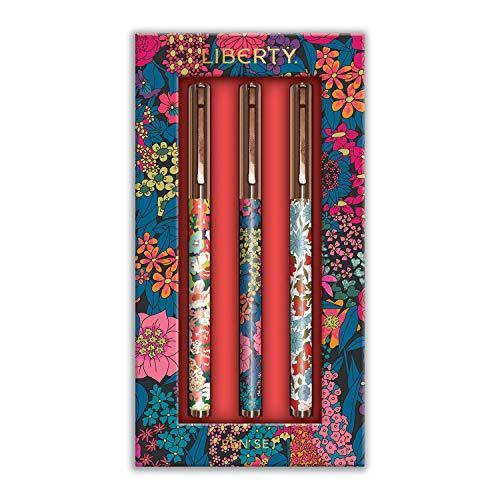 Liberty London Floral Everyday Pen Set - Cordelia's House of Treasures