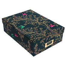 Sara Miller Decorative A4 Storage Box | Chelsea Collection | Home Office Storage Solutions | Gifts for Women | Storage Boxes with Lids | Office Accessories | Desk Storage | File Box | Archive Boxes - Cordelia's House of Treasures