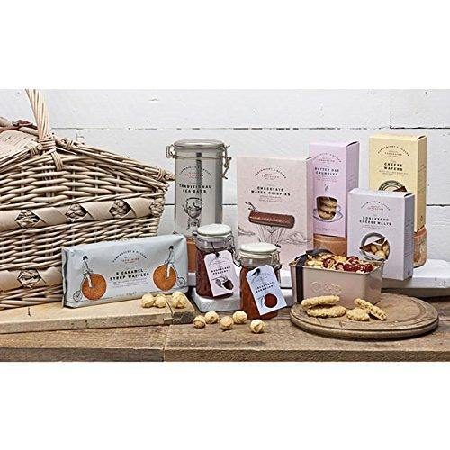 Cartwright and Butler Aysgarth Gift Hamper | Luxury Food Gift Hamper | Luxury Biscuits | Sweet Treats | Savoury Treats | Happy Birthday Hamper | Thinking of You Gifts | Get Well Soon Gifts | Contains Chutney, Savoury Biscuits, Fudge, Biscuits, Tea