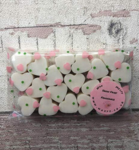 Waxys high scented 20 mini heart shaped Snow Fairy Vegan friendly eco soy wax melts with natural mica - Cordelia's House of Treasures