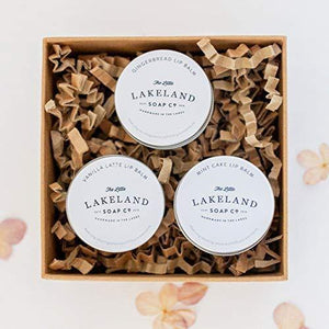 Little Lakeland Lakes Inspired Lip Balm Trio - Gift Box