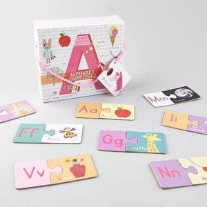 52pc Alphabet Jigsaw Toy For Kids - Cordelia's House of Treasures