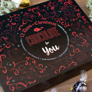 Non-personalised 12 Days of Christmas Gift Box - Truffle - Cordelia's House of Treasures