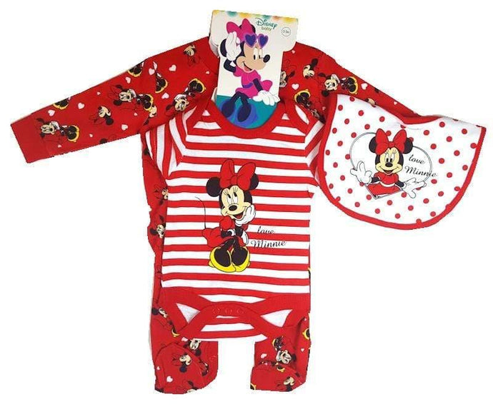 Minnie Mouse Layette Gift set for a baby - Cordelia's House of Treasures