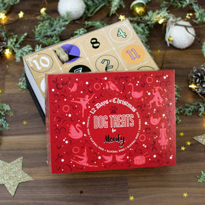 12 Days of Christmas Gift Box - Dog Treats - Cordelia's House of Treasures