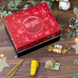 Non-personalised 12 Days of Christmas Gift Box - Dog Treats - Cordelia's House of Treasures