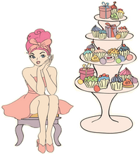 BathCupcakes Blossom Mix - Cordelia's House of Treasures