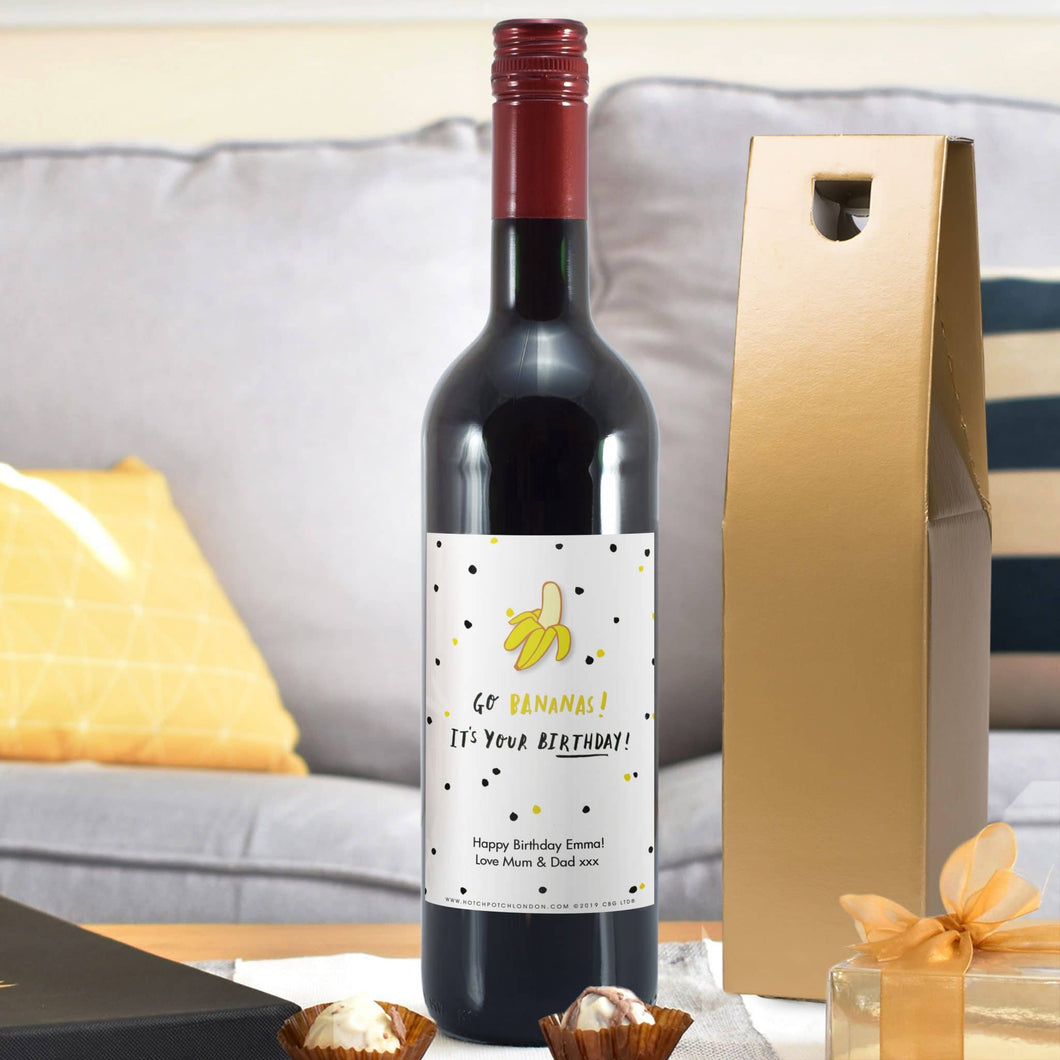HotchPotch Go Bananas Red Wine - Cordelia's House of Treasures