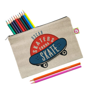 HotchPotch Skaters Gonna Skate Pencil Case - Cordelia's House of Treasures
