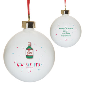 HotchPotch Gin-gle Bells Bauble - Cordelia's House of Treasures