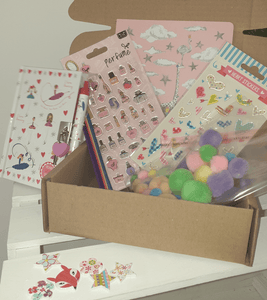 Keep your kids happy with this crafting and stationery Box - Cordelia's House of Treasures