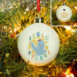 In The Night Garden Pastel Iggle Piggle Bauble - Cordelia's House of Treasures