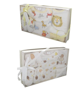 boxed baby shower gift set