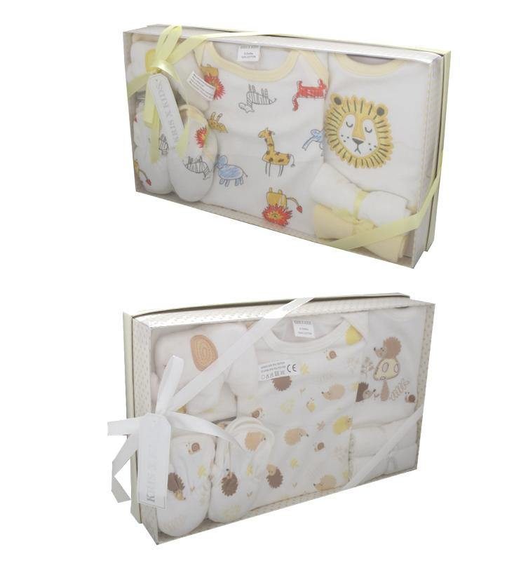 lion or Hedgehog baby gift box - Cordelia's House of Treasures