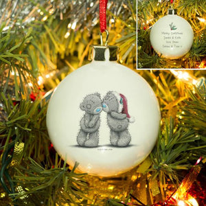 Me To You Christmas Together Bauble - Cordelia's House of Treasures