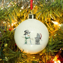 Me To You Tatty & Snowman Bauble - Cordelia's House of Treasures