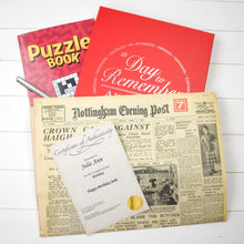 Original Newspaper with Puzzle Book - Cordelia's House of Treasures
