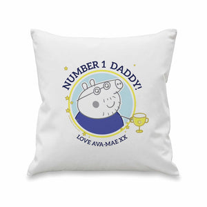 Peppa Pig™ Number 1 Daddy Cushion - Cordelia's House of Treasures