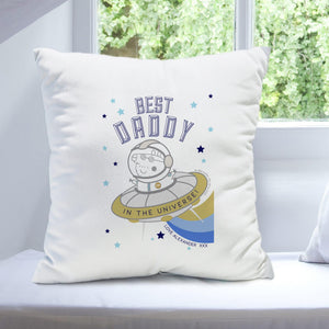 Peppa Pig™ Best Daddy Cushion - Cordelia's House of Treasures