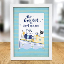 Peppa Pig™ Best Grandad A4 Framed Print - Cordelia's House of Treasures