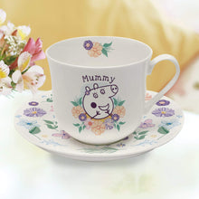Peppa Pig™ Mummy Pig Floral Cup & Saucer - Cordelia's House of Treasures